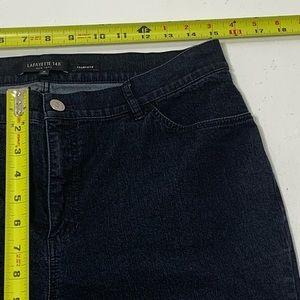 Lafayette 148 New York Jeans - Women's Size 10 Lafayette Thompson Dark Jeans